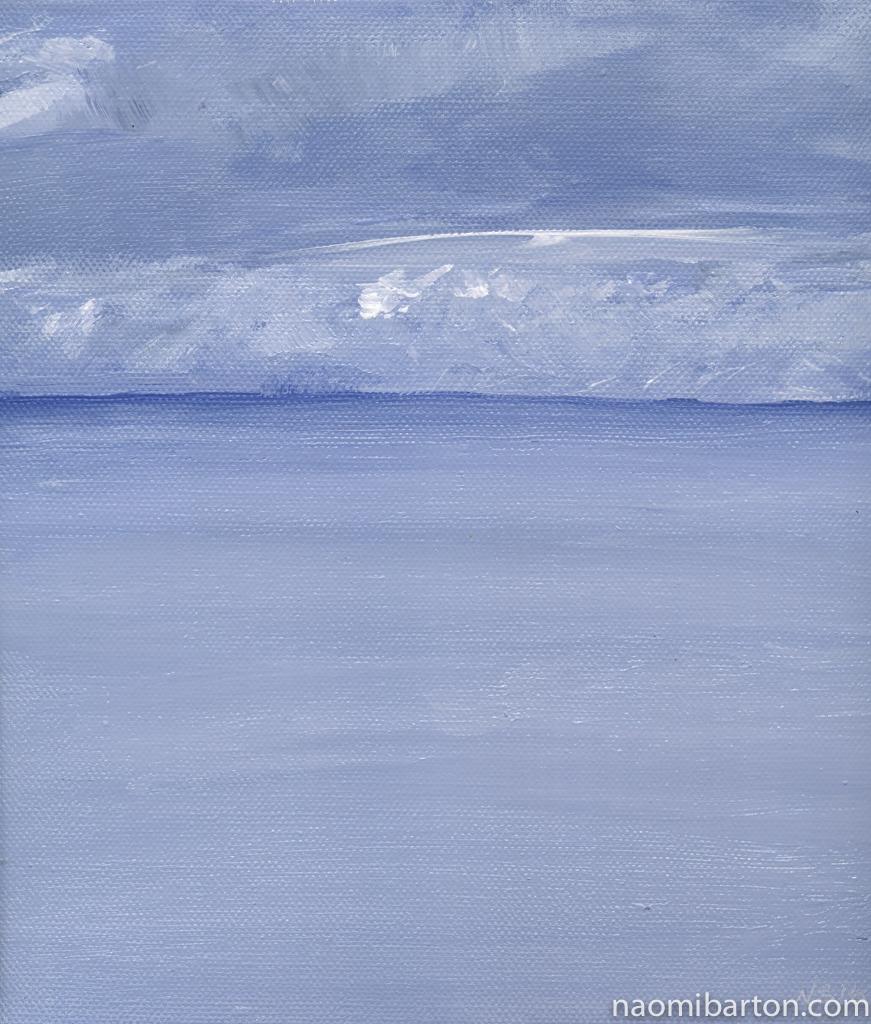 Acrylic on Canvas 25.4 x 25.4 cm