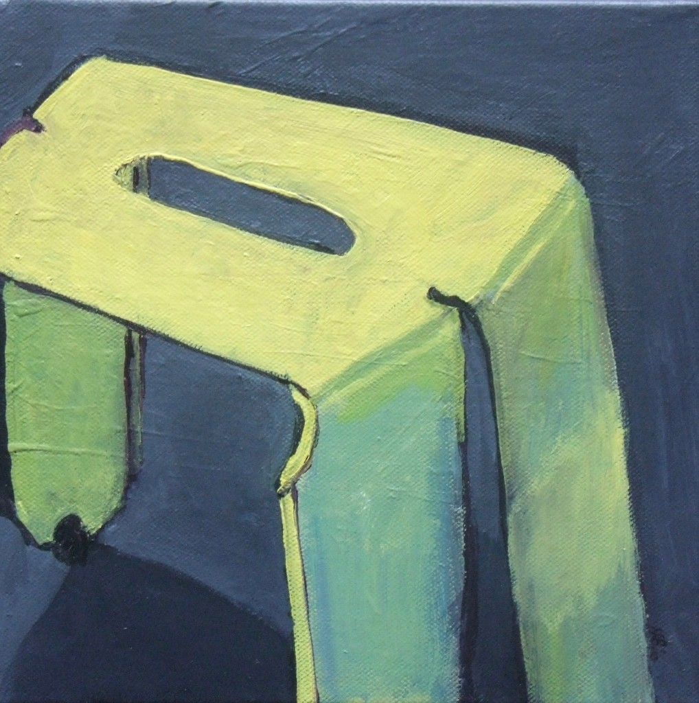 Yellow Chair Acrylic on Canvas