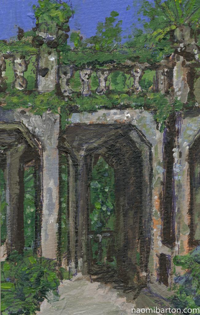 Acrylic on Canvas 10.5 x 14.8cm